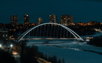 A WINTER VISIT TO EDMONTON! By Paul Clement
